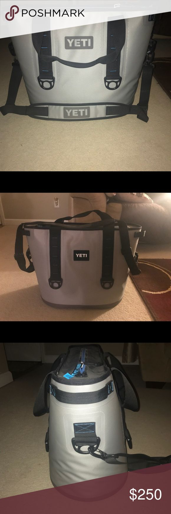 Yeti Hopper cooler Large Yeti Hopper cooler. Zip closure. Carrying strap. Used twice. Can fit a lot and really keeps cold for a long time. Like new, excellent condition yeti Other