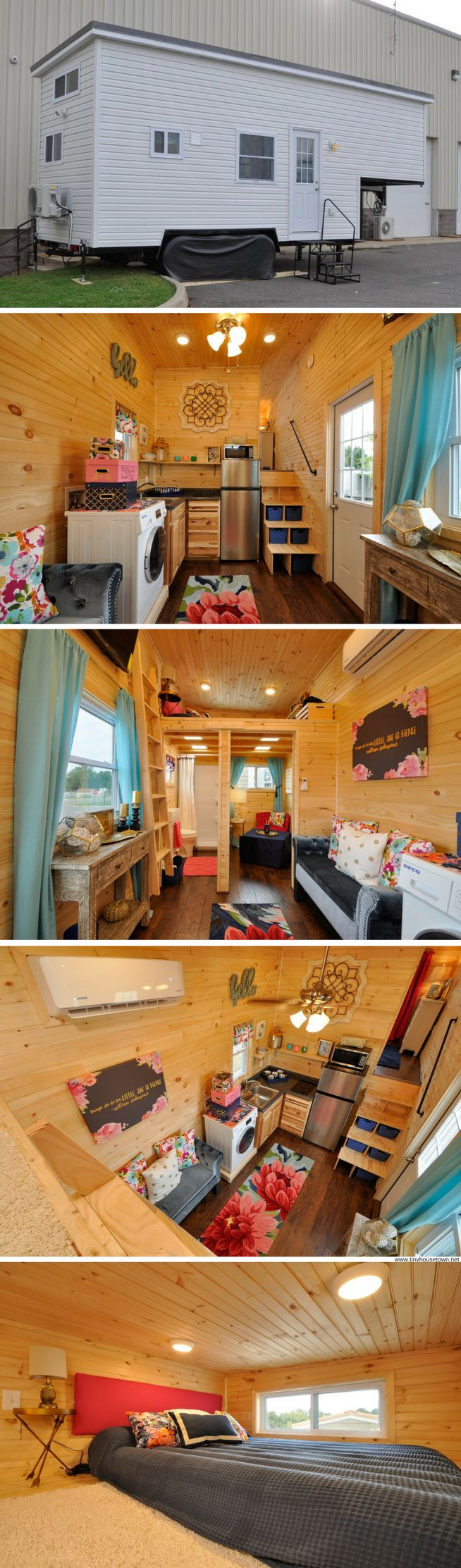 The Georgia: a tiny house that fits three bedrooms into just 315 sq ft!