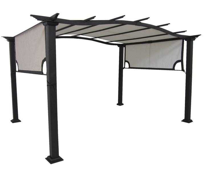 12 x 9.3 Pergola with Canopy Patio u0026 BBQs | Walmart Canada Online Shopping  sc 1 st  Pinterest & 15 best BBQ pergola images on Pinterest | Backyard ideas Garden ...