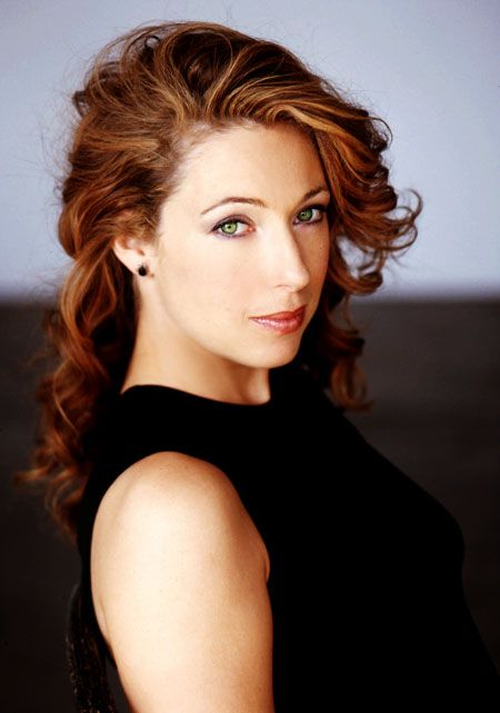 Okay I guess Alex Kingston is not as bad looking as I thought. :p