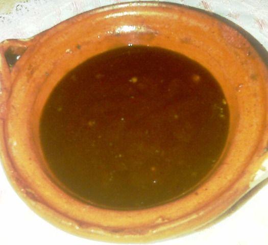 Salsa de tamarindo agridulce