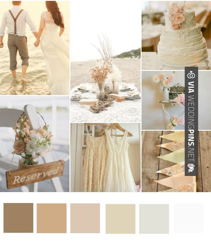 Beach Wedding Theme 2017 Best Images About Colour Schemes On