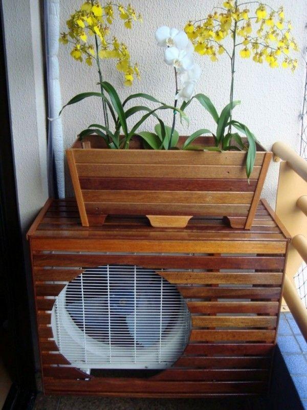 Soluções para esconder o ar-condicionado