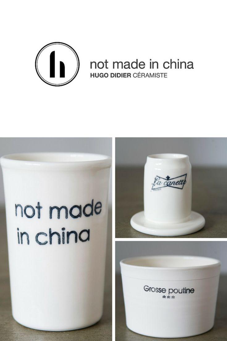 Hugo Didier - not made in China, céramique fait à la main à Montréal