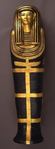 Coffin and mummy of Henut-Wedjebu 1391–1350 BC