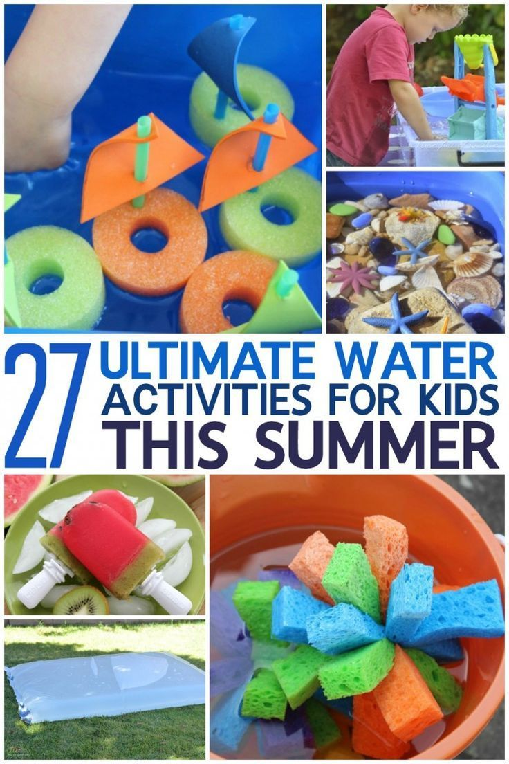 27 Ultimate Water Activities for Kids this Summer