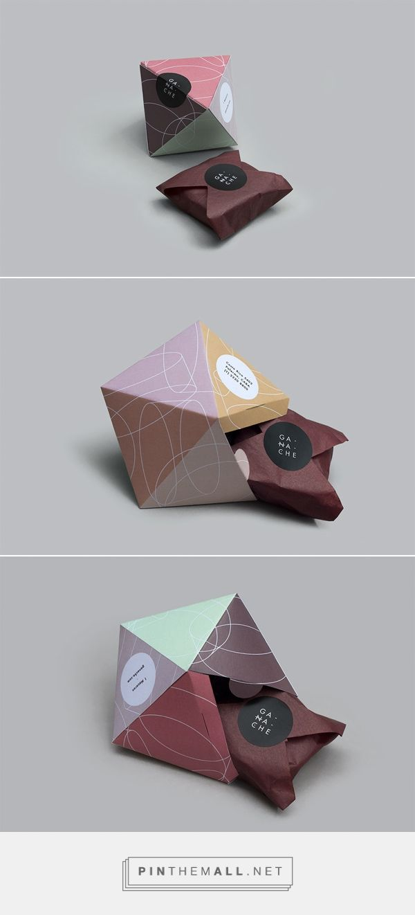 Ganache / packaging design for macarons brand Ganache