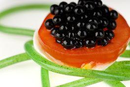 Perles de vinaigre balsamique