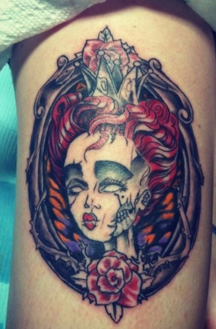 15 best images about alice in wonderland on pinterest for Red queen tattoo