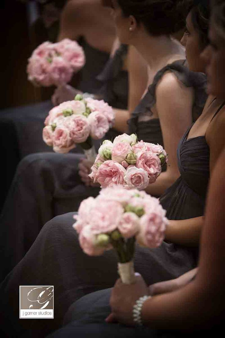 blush pink Wedding Bouquets | ... Great style! What's not to love about this wedding of Karisa and Kyle