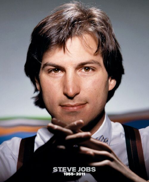 Steve Jobs in his younger days!