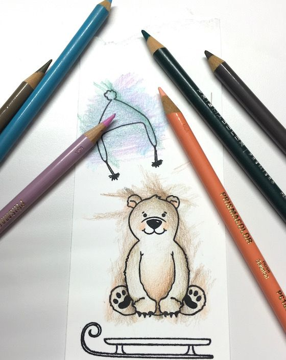 11 best Cards - Coloring with Pencils images on Pinterest | Water ...
