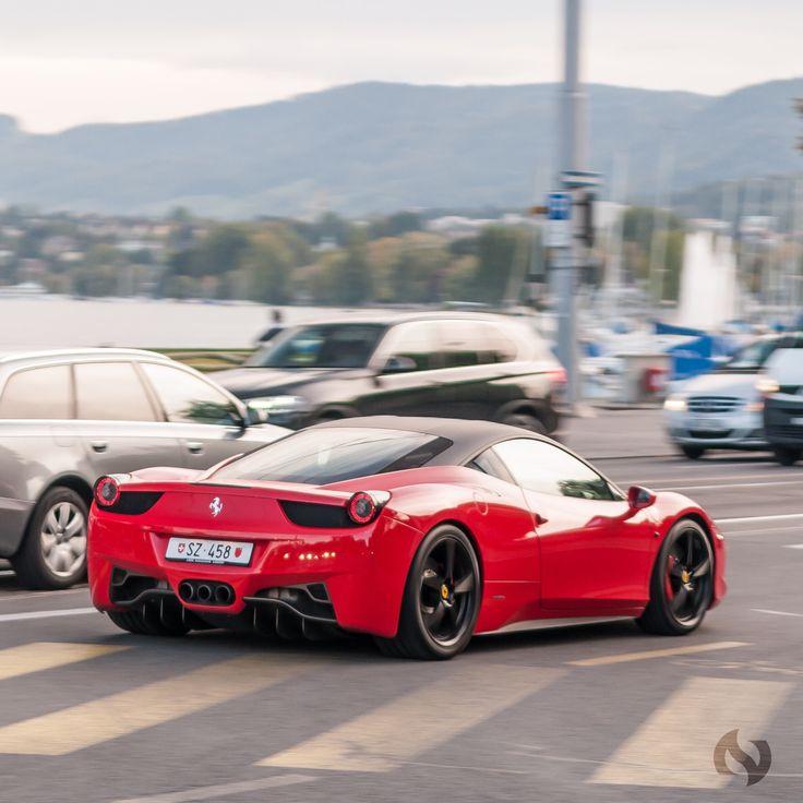 Ferrari 458 Italia #MadWhips Photo By IG: NVCarphotography