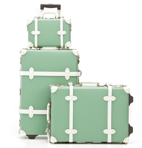 Vintage Inspired Luggage 81