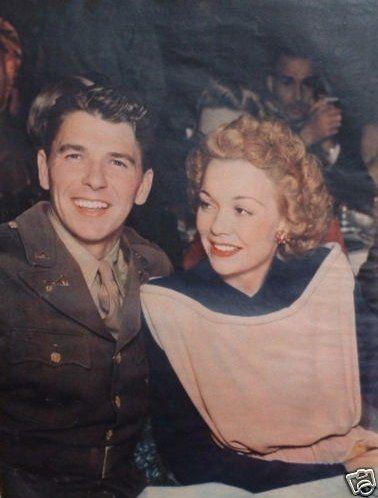 Ronald Reagan & Jane Wyman