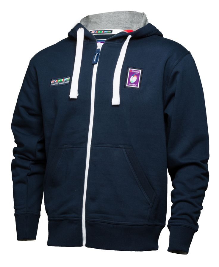 Official #NATWEST6Nations Rugby Kids Full Zip Hoodie #rugby #6nations