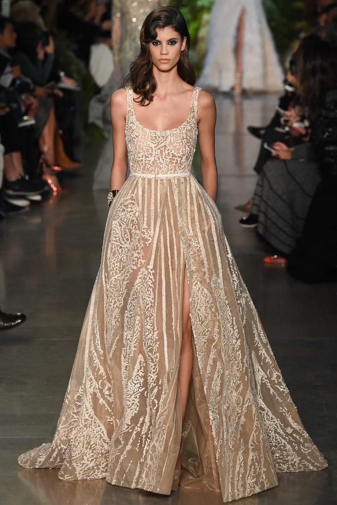 Wedding Dresses in Fashion Shows High Couture in Paris