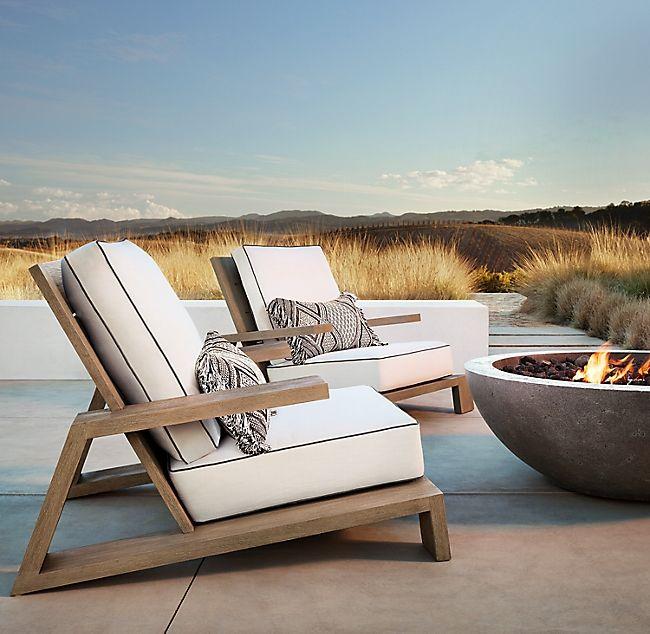 Olema Teak Lounge Chair En 2020 Meuble Exterieur Terrasse Luxe