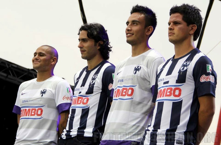 CF Monterrey Nike 2012/13 Home and Away Jerseys