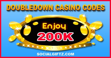 Click to to redeem your Doubledown Casino Promo Codes or Enter the Promo Code Manually. LIKE and SHARE so your friends can collect it too.