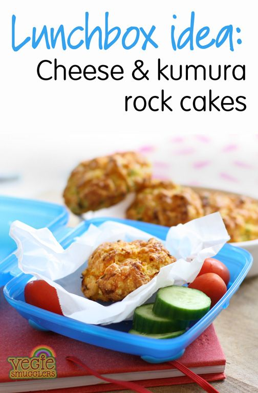 healthy lunchbox ideas - cheese and veggie savoury rock cakes