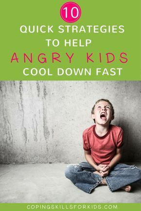 10+ Quick Strategies to Help Angry Kids Cool Down Coping Skills for Kids | Coping Skills for Anger | Anger Management for Kids | Coping Strategies for Anger | Coping Skills for Kids