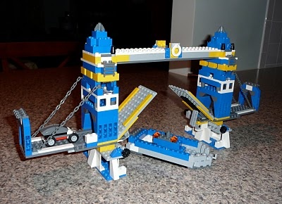 make a lego bridge