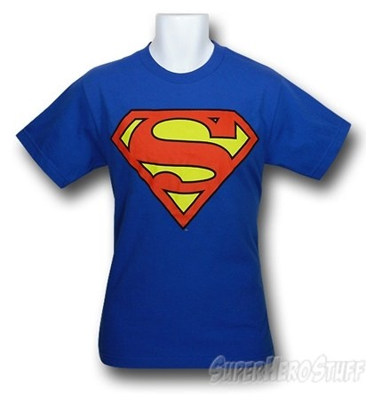 """I really want a Superman t-shirt so that I can wear it under a button up so that when something goes wrong I can yell, """"This looks like a job for... SUPERGIRL!"""""""