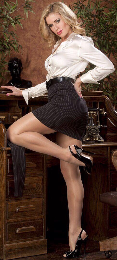 She hot satin shorts and pantyhose keeper kisses
