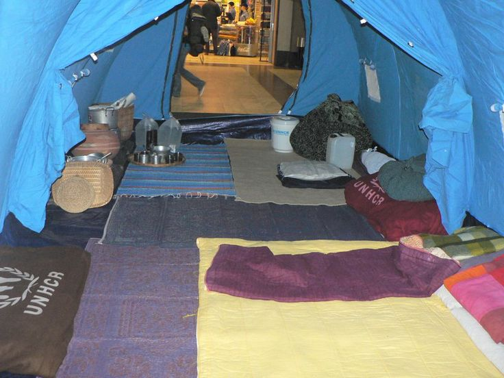 Inside Family Tent World Refuge Day Northern Europe Rugs Make A Huge Difference