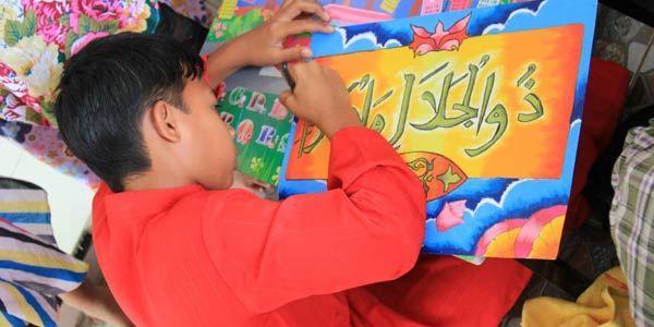 Ramadhan, Universitas Pasundan gelar lomba kaligrafi