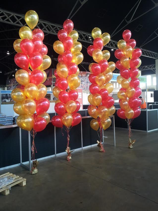 1263 best images about balloon bouquets on pinterest for Balloon arrangement ideas