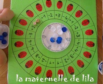jeu des coccinelles (ajouter et retirer) | math 1ère ...