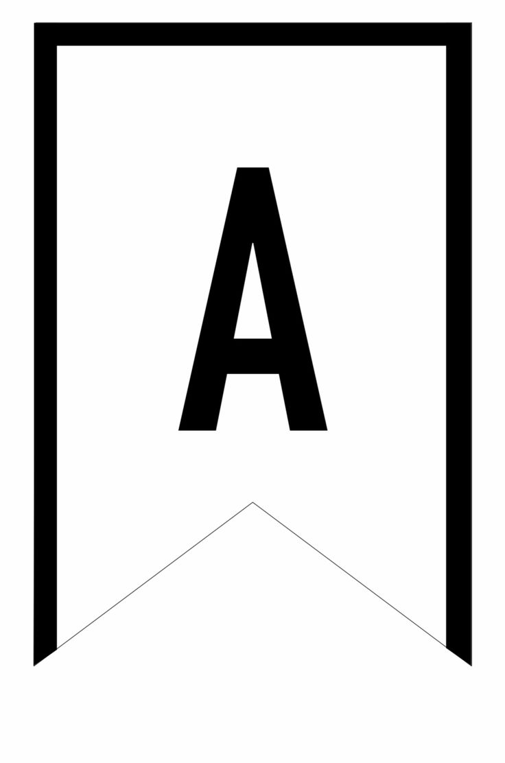 Banner Templates Free Printable Abc Letters - Printable ...