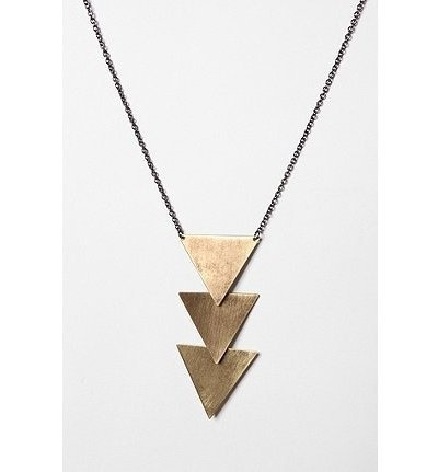 Tiered Geometric Necklace / Urban Outfitters