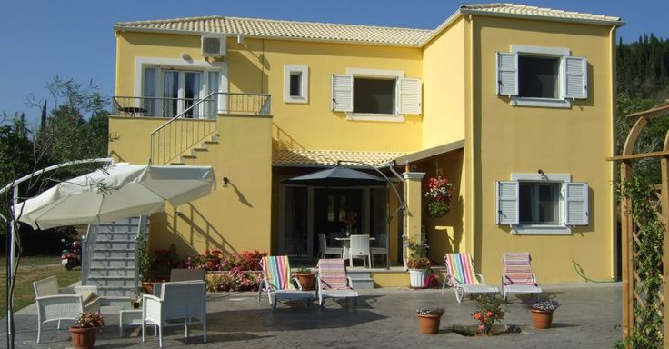 Villa Mimosa Guest House in the beautiful Corfu Countryside.