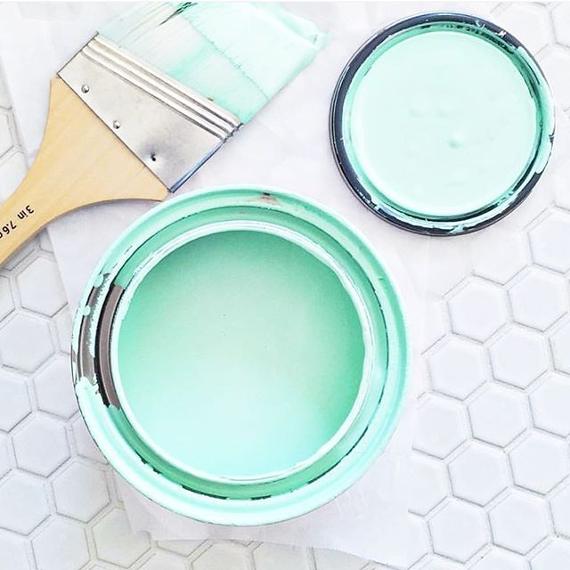 Love This Paint Color So At Our New House I Sure Do Hope Griffinnw Will Be Cool With It Img Via Elsielarson Mint In 2019 Pinterest