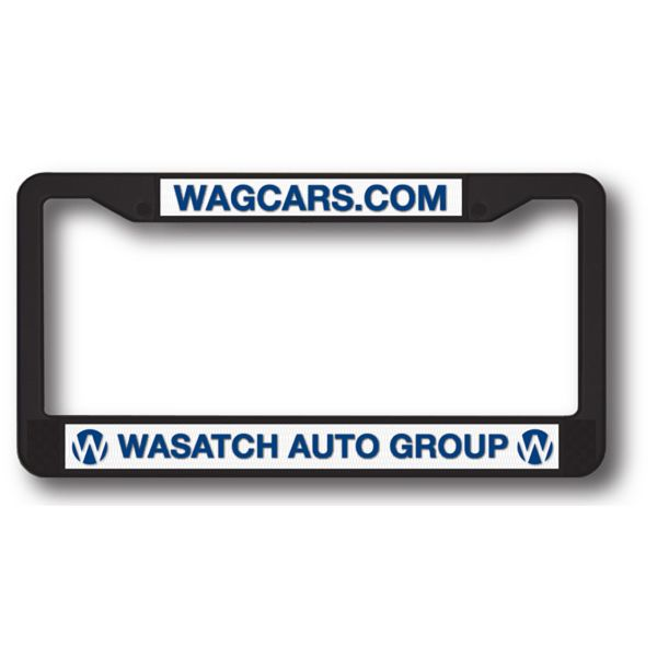 22 best license plate frames with your slogan or brand for American frame coupon code