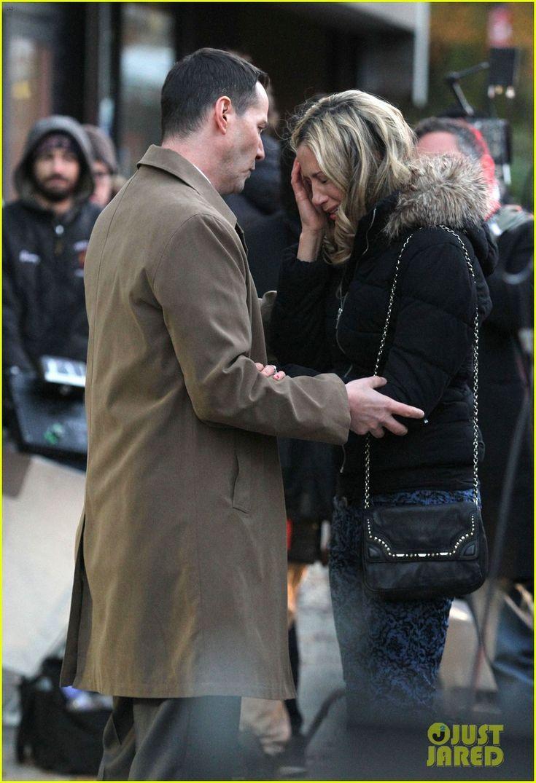 2014  Keanu Reeves Comforts Crying Mira Sorvino in Emotional 'Daughter of God' Scene