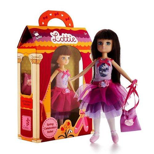 "Lottie Κούκλα βινυλίου ""Μπαλαρίνα της Άνοιξης"" 18εκ."