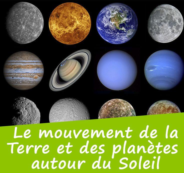 Comprendre le système solaire - Le système solaire - La rotation de la Terre - La révolution de la Terre