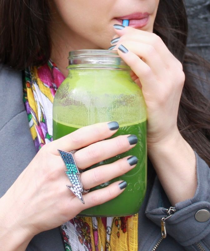 the daily green juice