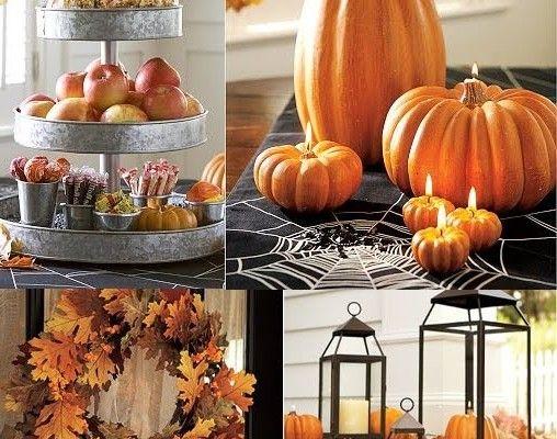 Candle Pumpkin / Подсвечники из тыквы