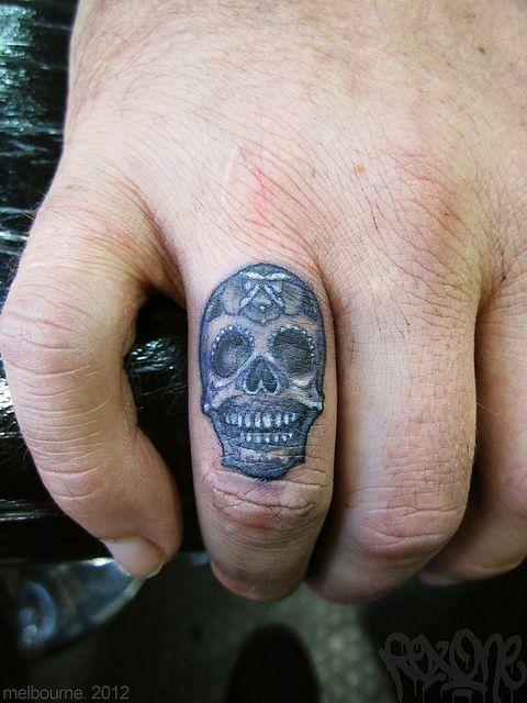 tiny skull tattoos - Google Search