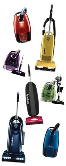 Simplicity, vacuum cleaners made in Missouri. Can be purchased at Southern Vacuum in Orlando, Fl. 407-894-6521