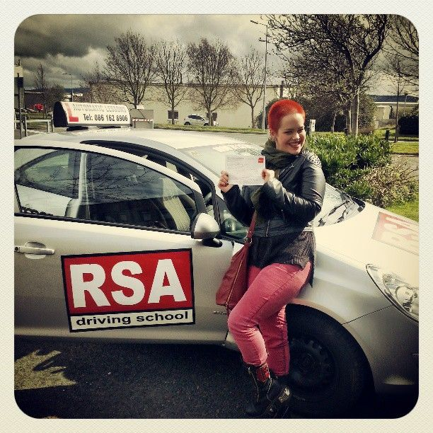 Congratulations Radika who passed today in #tallaght with the #rsadrivingschool http://www.rsadrivingschool.ie