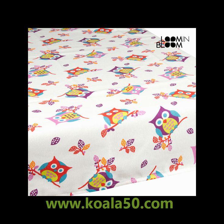 Mantel búhos blanco by Loom In Bloom - 9,64 €   Si quieres darle a tu hogar un aire de originalidad, con mantel búhos blanco by Loom In Bloom lo conseguirás.Material: algodón y poliésterLavado: máquina agua fríaMedidas: 150x140x1...  http://www.koala50.com/caminos-de-mesa-manteles/mantel-buhos-blanco-by-loom-in-bloom