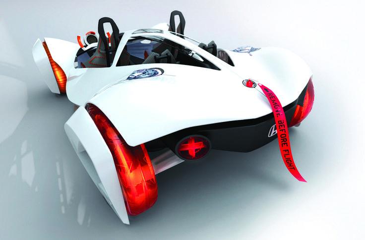 LA Design Challenge (2010): Honda Air Concept