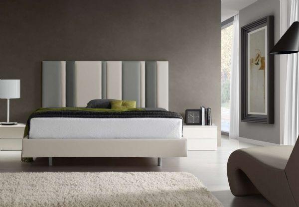 Cabecero tapizado rayas 2 cama tapizada camas - Cabeceras de cama tapizadas ...