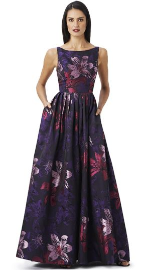 Original vestido de Adrianna Papell 2014